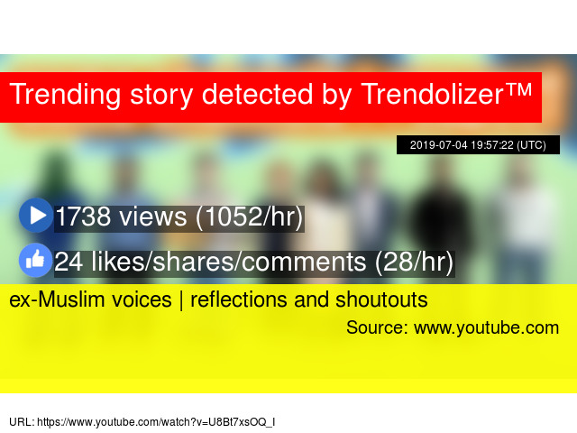 ex-Muslim voices | reflections and shoutouts