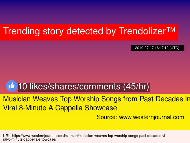 Musician Weaves Top Worship Songs from Past Decades into