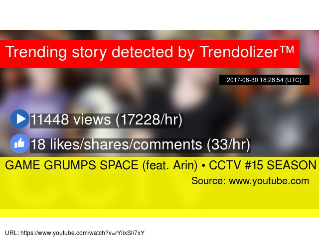 GAME GRUMPS SPACE (feat  Arin) • CCTV #15 SEASON FINALE